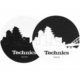 2 x Slipmats Technics Skyline Tokyo