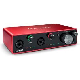 Focusrite Scarlett 4i4  Interfaccia Audio 4-In, 4-Out Terza Generazione