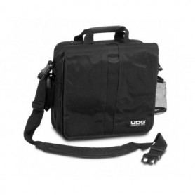 La Ultimate CourierBag DeLuxe Black/Orange inside