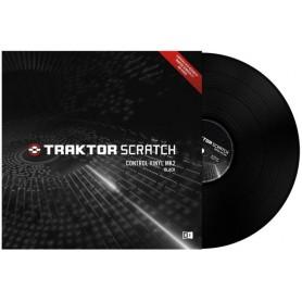 Traktor Scratch Pro Control Vinyl MK2 Black