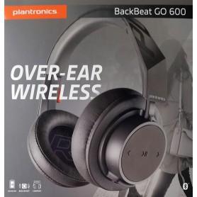 Plantronics Back Beat Go 600 Grey Bluetoooth