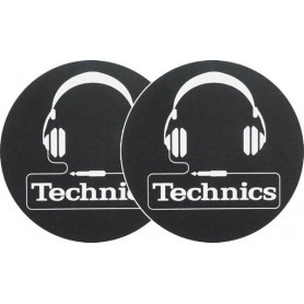 Coppia Slipmats - Technics Headphones