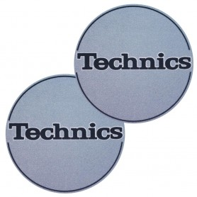 2x Slipmats Technics - Blu Metallico