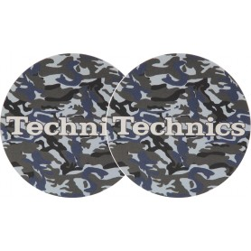 2x Slipmats - Technics Army Navy