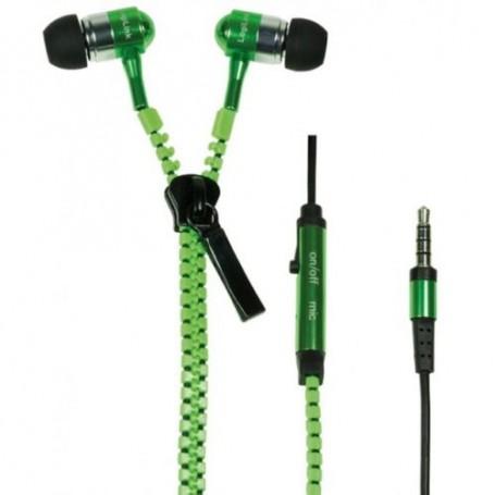 Auricolare Zzipp con Microfono - Verde