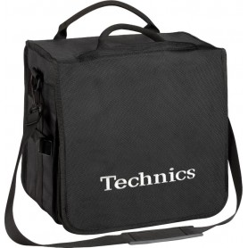 Technics BackBag Black Logo Silver