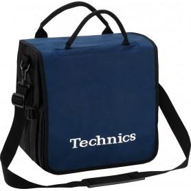 Technics BackBag Navy Logo White