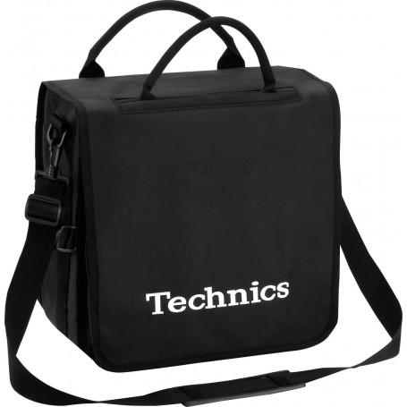 Technics Backbag Black Logo White