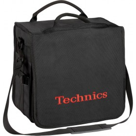 Technics Backbag Black Logo Red